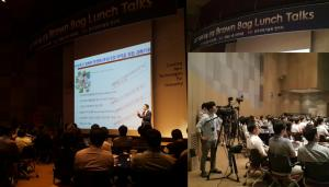 Brown bag lunch with YTN Science 이미지